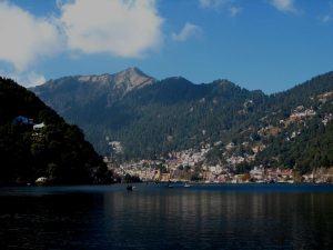 *** Индия, Гималаи, Найнитал, Баджери озеро - Nainital Lake ***